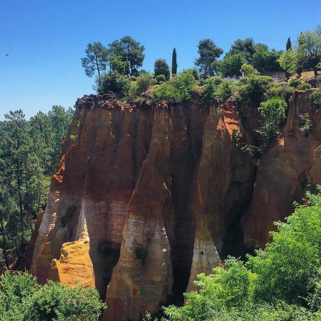Il Sentiero delle Ocre di Roussillon