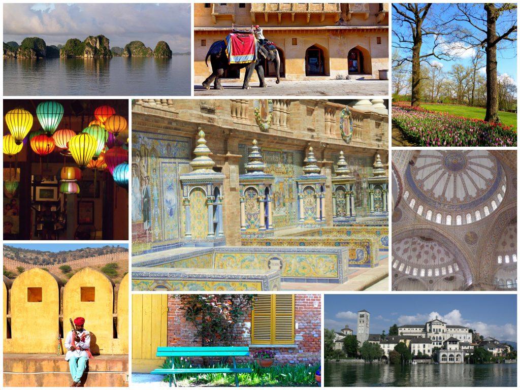 viaggi collage